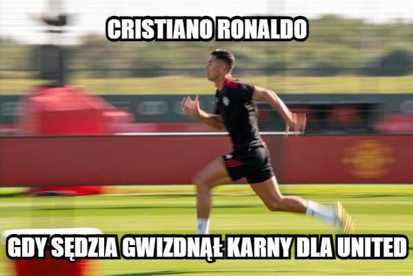 Cristiano już biegnie